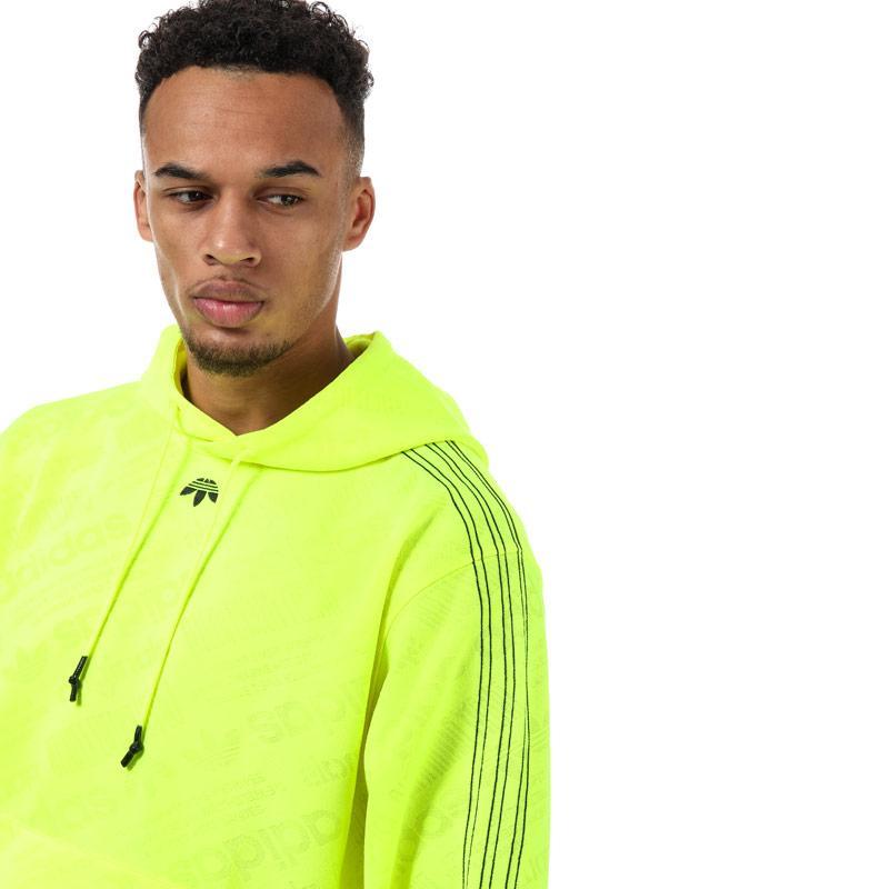 Mikina Adidas Originals Mens Alexander Wang Jacquard Hoody Green