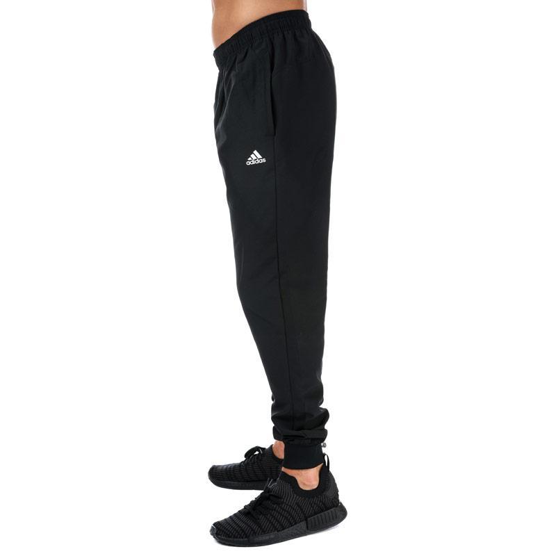 Tepláky Adidas Mens Essentials Standford 2.0 Track Pants Black-White