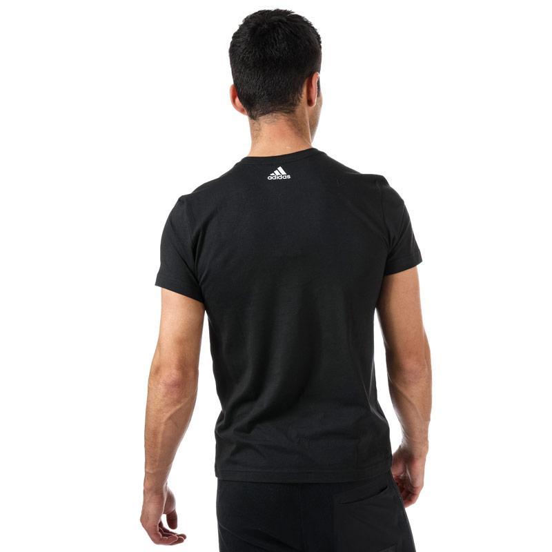 Tričko Adidas Mens ID Lineage T-Shirt Black