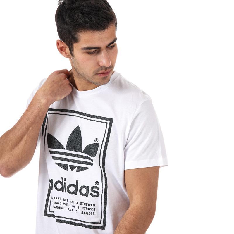 Tričko Adidas Originals Mens Japan Archive T-Shirt White