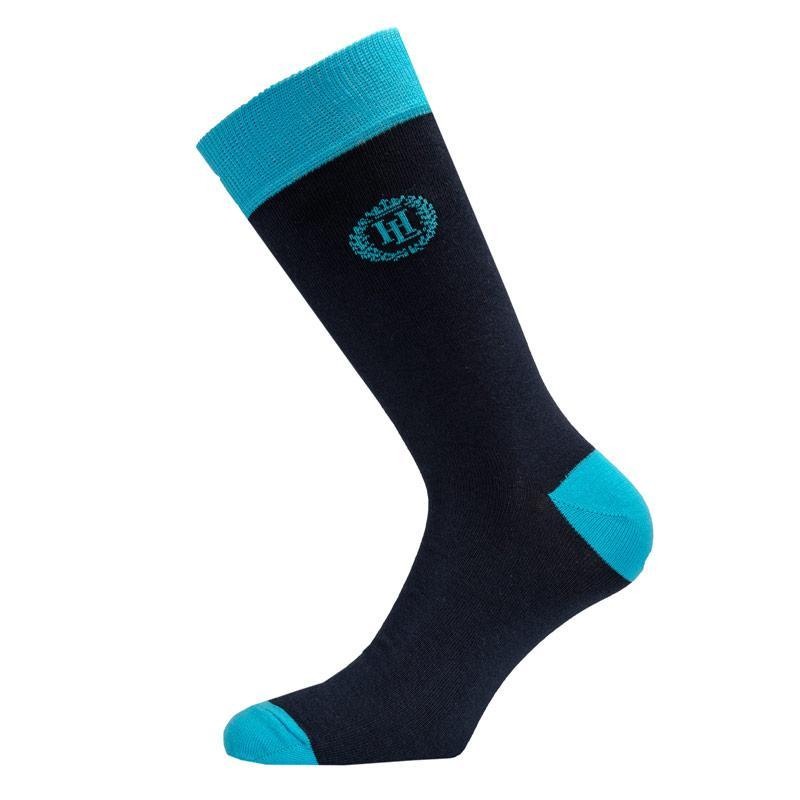 Ponožky Henri Lloyd Mens Santon Contrast Sock Blue