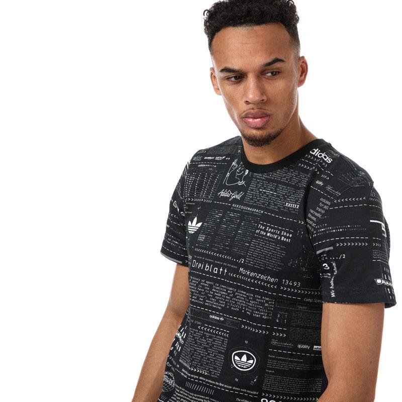 Tričko Adidas Originals Mens Sophisti Tee Black