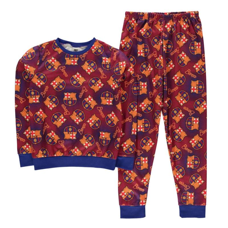 Pyžamo Team Snug Pyjama Set Child Boys Barcelona