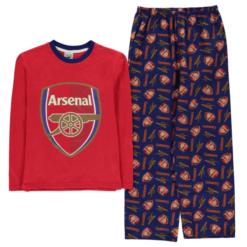 Pyžamo Team Woven Jersey Pyjama Set Child Boys Liverpool