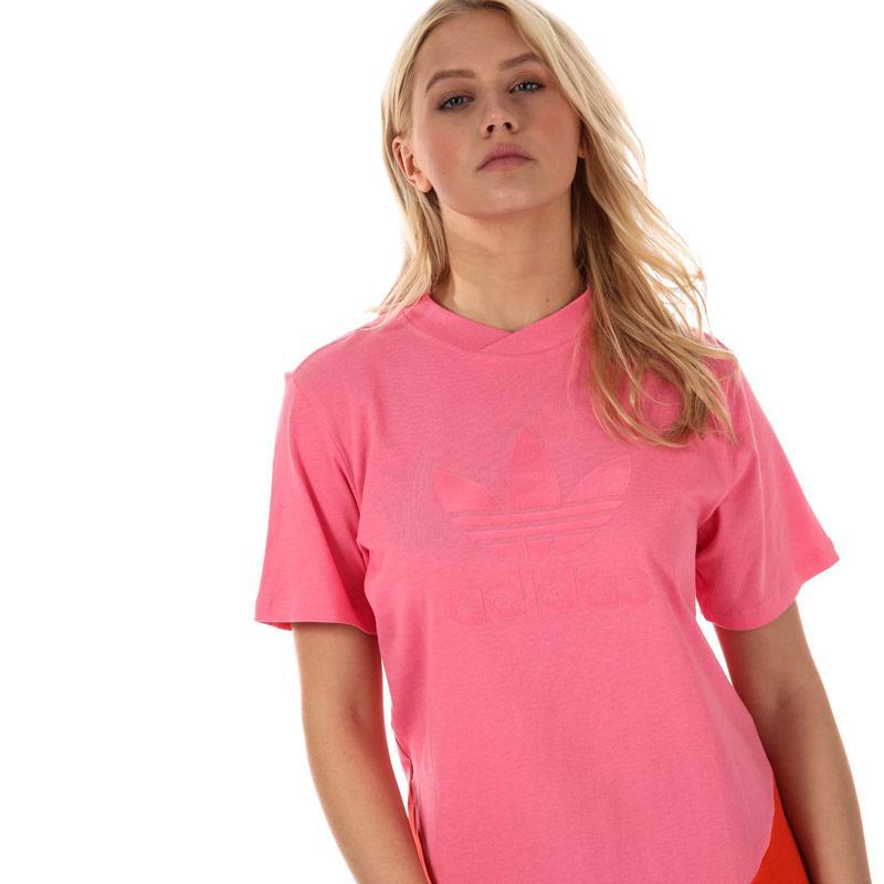 Adidas Originals Womens CLRDO T-Shirt Pink