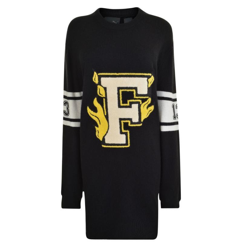 Mikina FENTY PUMA by Rihanna Letter Sweatshirt Black