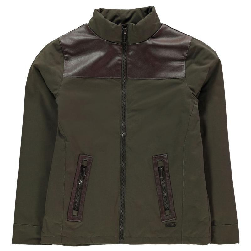 Bunda Firetrap Langton Jacket Junior Boys Olive