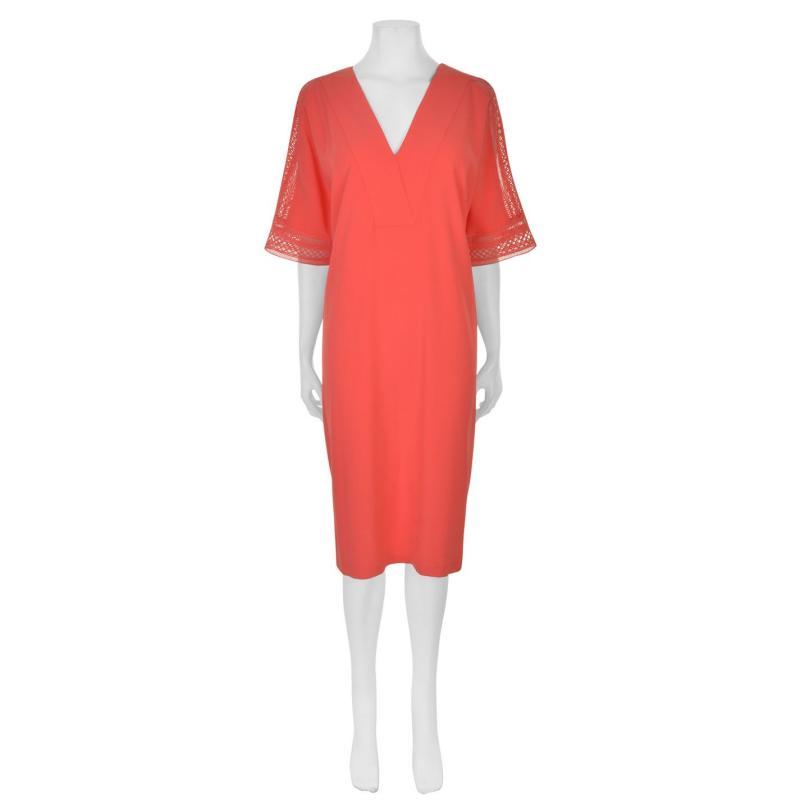 Šaty Laurel Trim Dress Coral