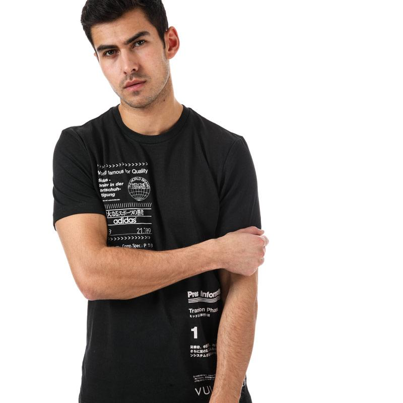 Tričko Adidas Originals Mens Sophisti T-Shirt Black