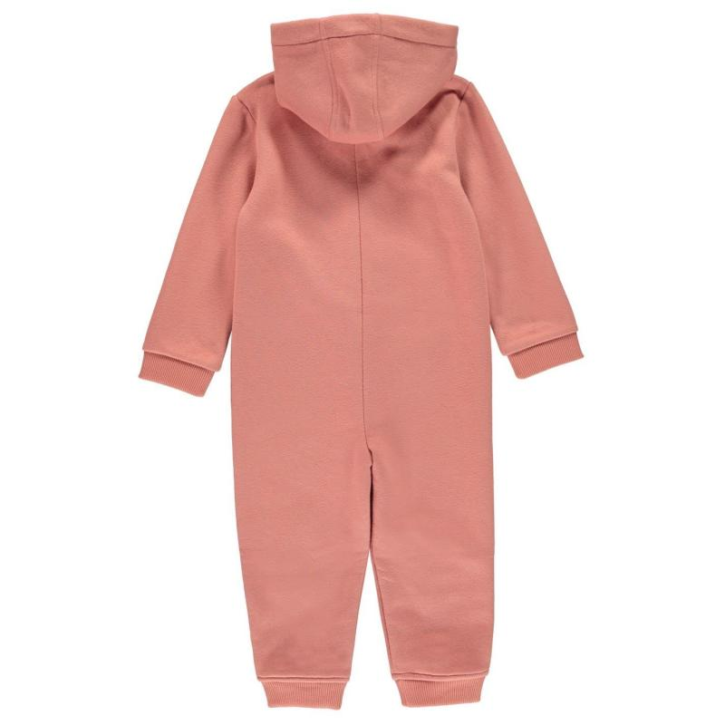 Pyžamo SoulCal Fleece Onesie Infants Pink