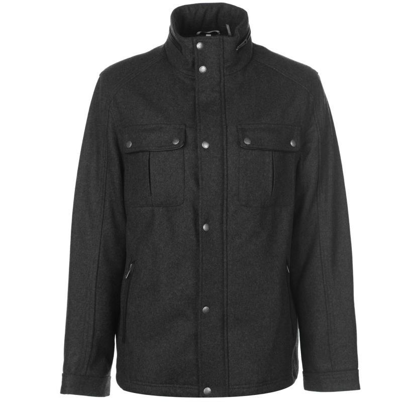 Cole Haan Wool Trucker Jacket Mens -