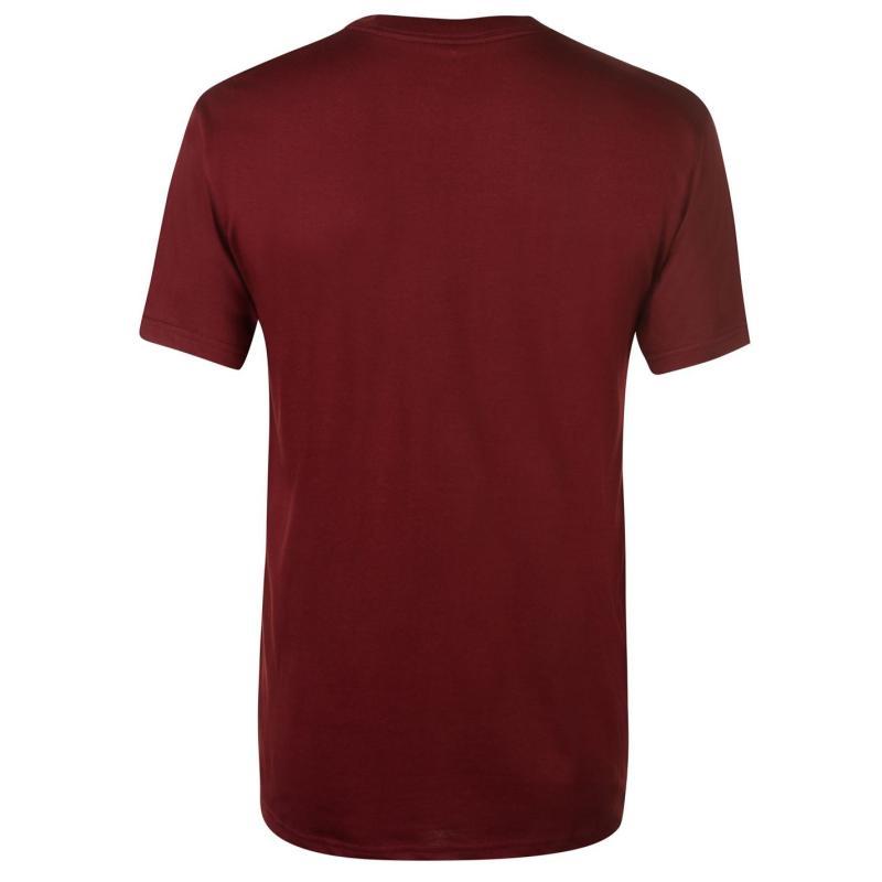 Tričko DC Aurora Short Sleeve T Shirt Mens Black