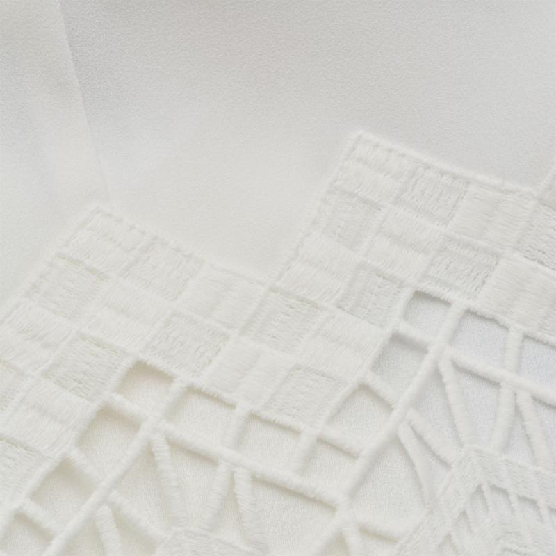 Košile Laurel Trim Blouse White