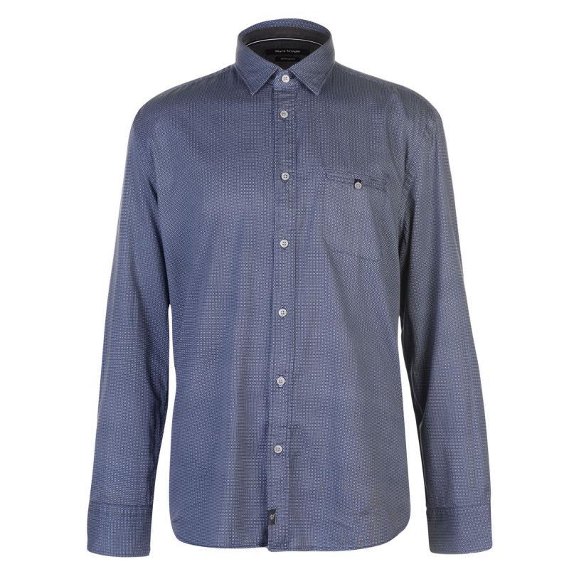 Marc O Polo Sleeve Shirt Grey F95