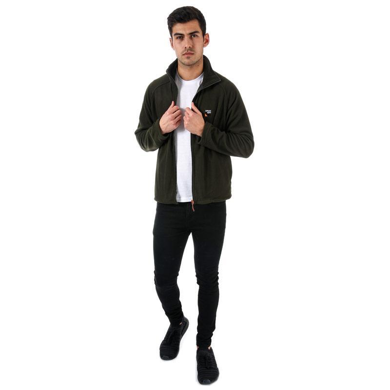 Mikina Sprayway Mens Santiago Full Zip Fleece Khaki