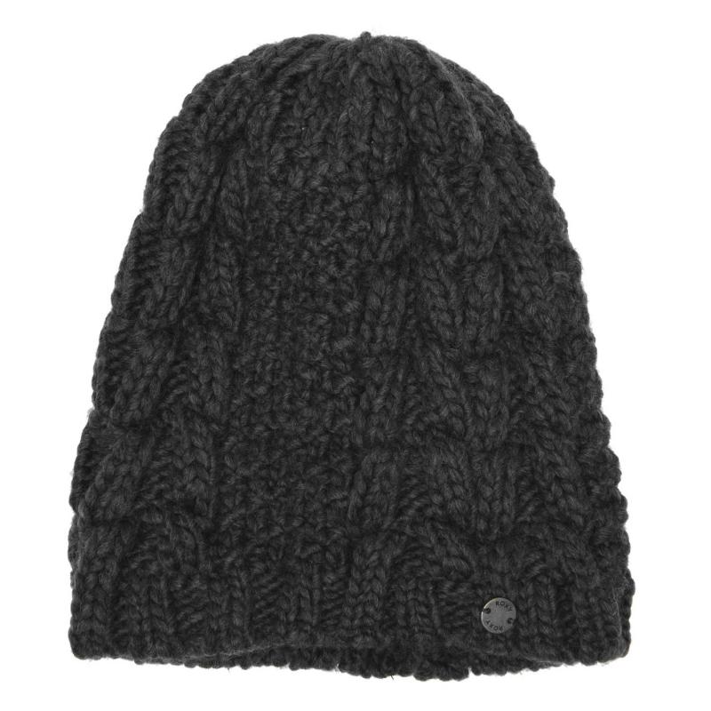 Roxy Showtime Beanie Ladies Charcoal