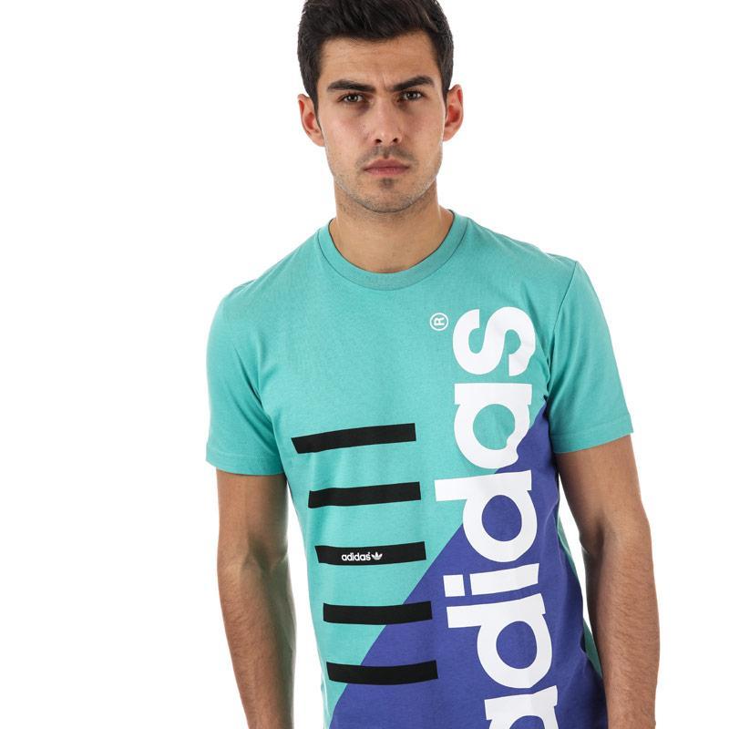 Tričko Adidas Originals Mens Commercial T-Shirt aqua
