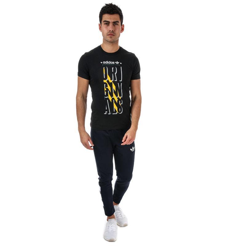 Tričko Adidas Originals Mens Graphic slogan T-shirt Black