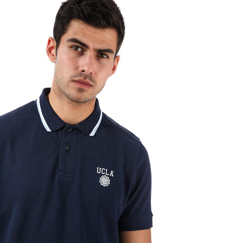 Ucla Mens Mckinnely Polo Shirt Navy