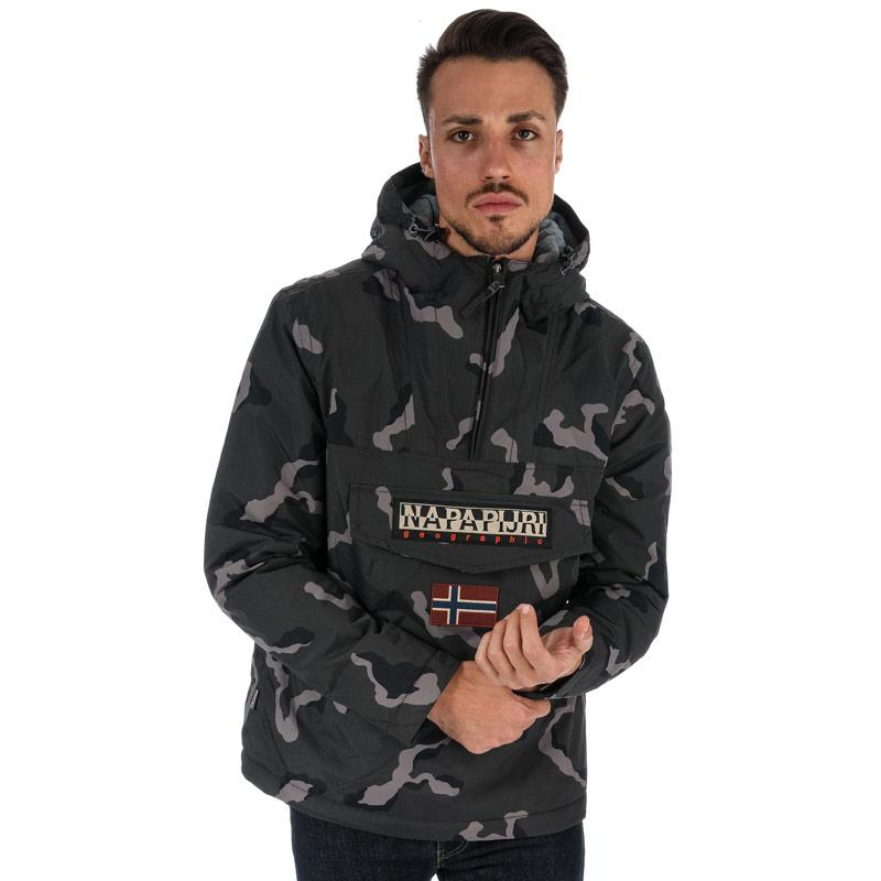 Napapijri Mens Rainforest Fantasy Jacket Camo