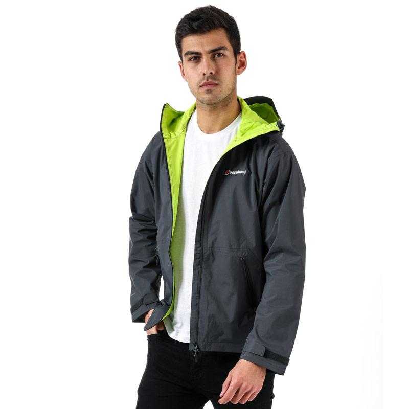 Berghaus Mens Stormcloud Waterproof Jacket Grey green