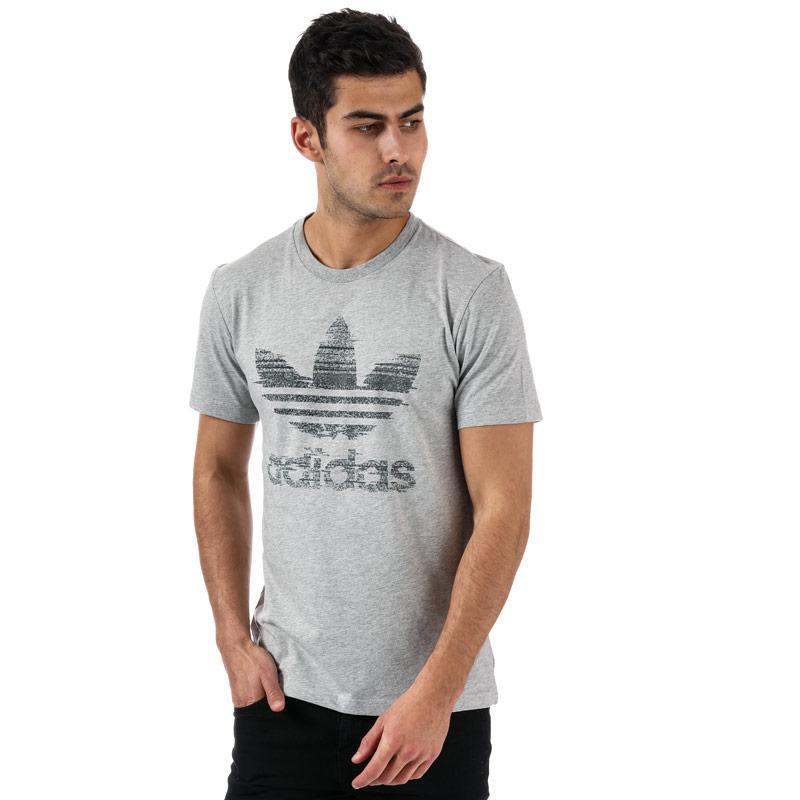 Tričko Adidas Originals Mens Traction In Action T-Shirt Grey Heather