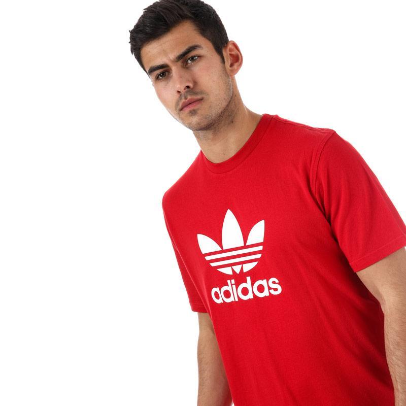 Tričko Adidas Originals Mens Trefoil T-Shirt Red
