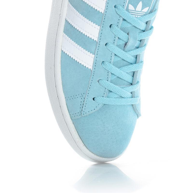 Adidas Originals Womens Campus Trainers Light Blue
