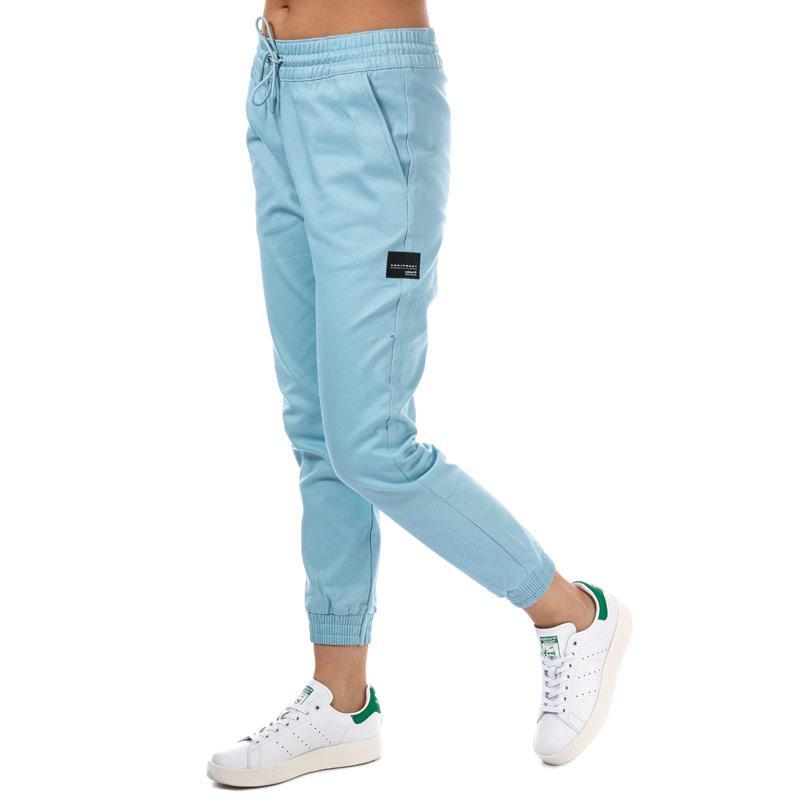Sportovní kalhoty Adidas Originals Womens EQT Pants Light Grey