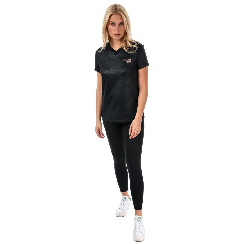 Adidas Originals Womens EQT T-Shirt Black