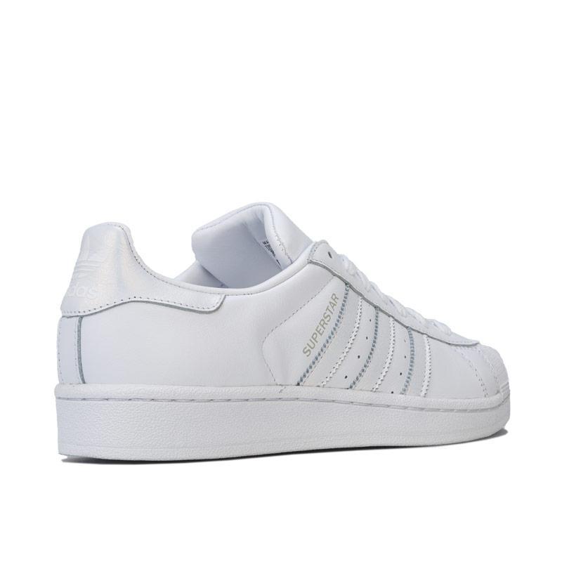 Adidas Originals Womens Superstar Trainers White