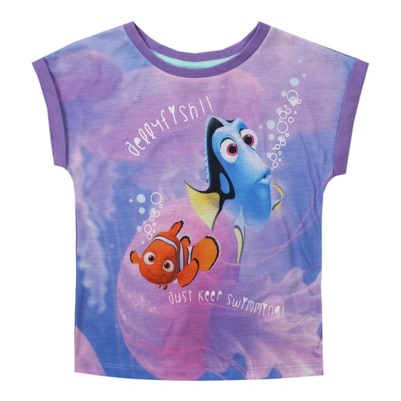 Disney Junior Finding Dory Swimming T-Shirt Multi colour