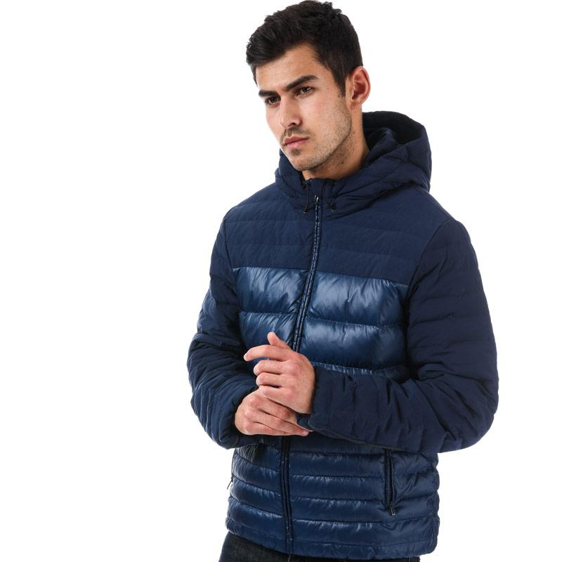 Adidas Mens Cosy Down Jacket Navy