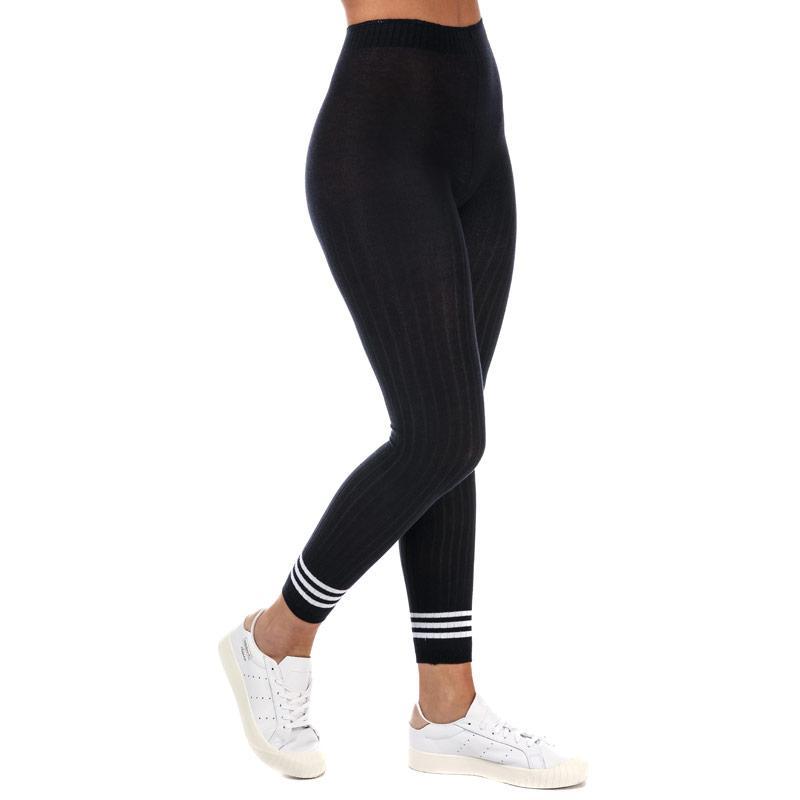 Legíny Adidas Originals Womens 3-Stripes Tights Navy
