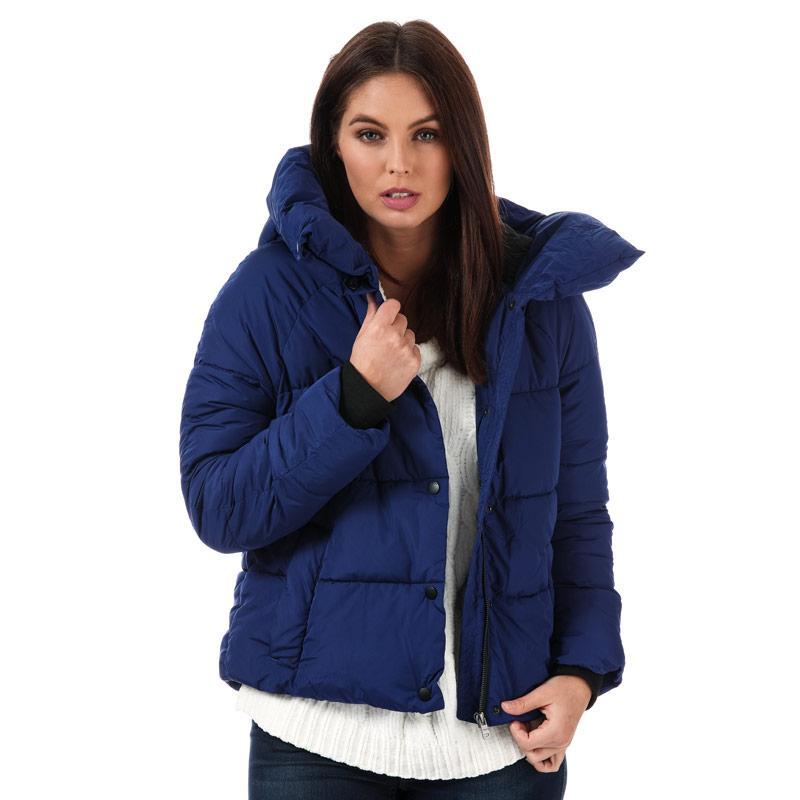 Only Womens Mari Padded Jacket Blue