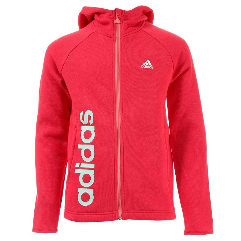 Adidas Performance Junior Girls Essential Hoody Pink