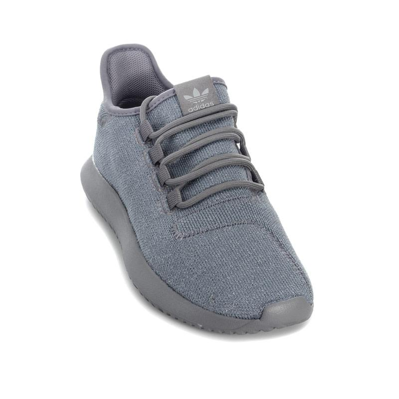Adidas Originals Junior Girls Tubular Trainers Grey