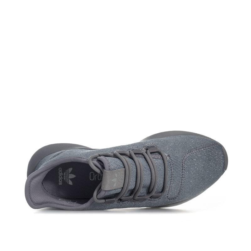 Adidas Originals Junior Girls Tubular Trainers Grey