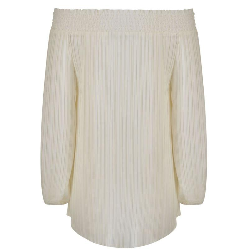 Košile Laurel Bardot Blouse White
