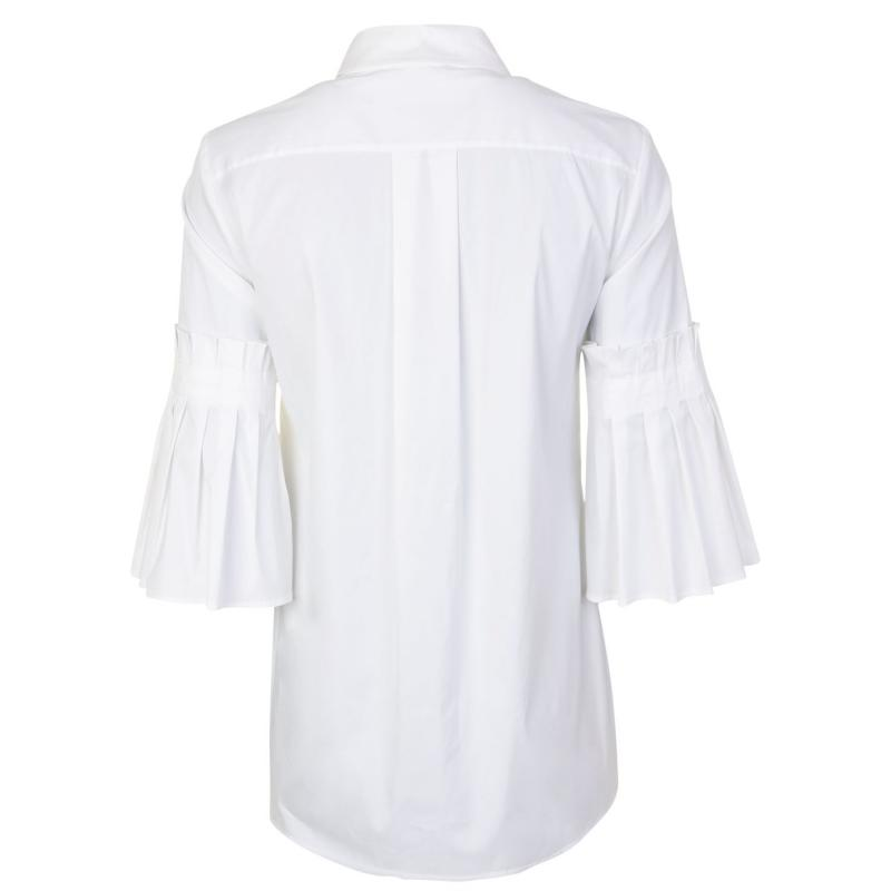 Košile Laurel three quarter Sleeve Shirt White