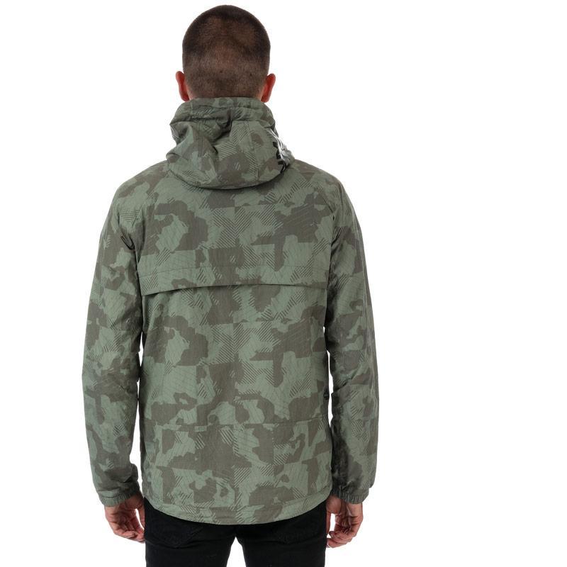 Timberland Mens Colour Block Windbreaker Jacket Camo
