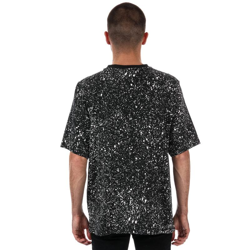Tričko Adidas Originals Mens Planetoid T-Shirt Black Grey White