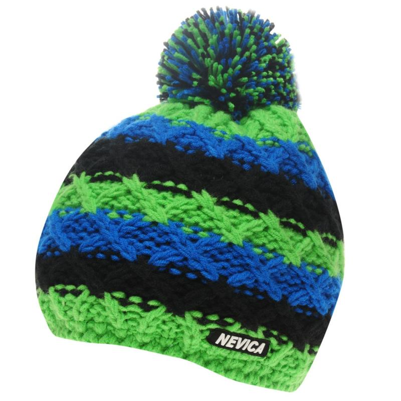 Nevica Vail Beanie Juniors Lime/Black