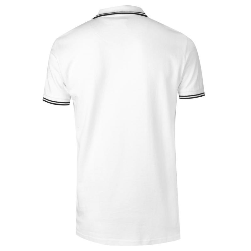 VOI Side Logo Polo Shirt Mens White