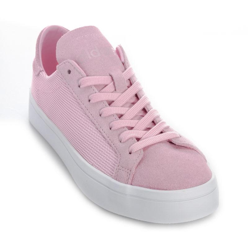 Adidas Originals Womens Court Vantage Trainers Pink