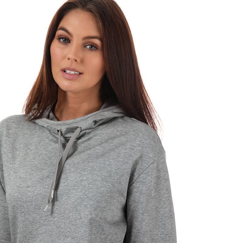 Emporio Armani EA7 Womens Logo Tracksuit Grey black