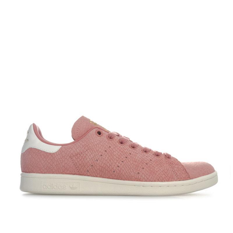 Adidas Originals Womens Stan Smith Trainers Dusky Pink