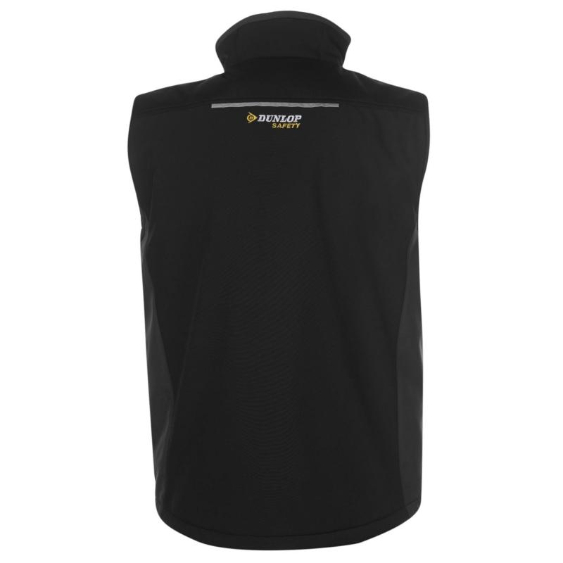 Dunlop On Site Gilet Mens Black/Charcoal