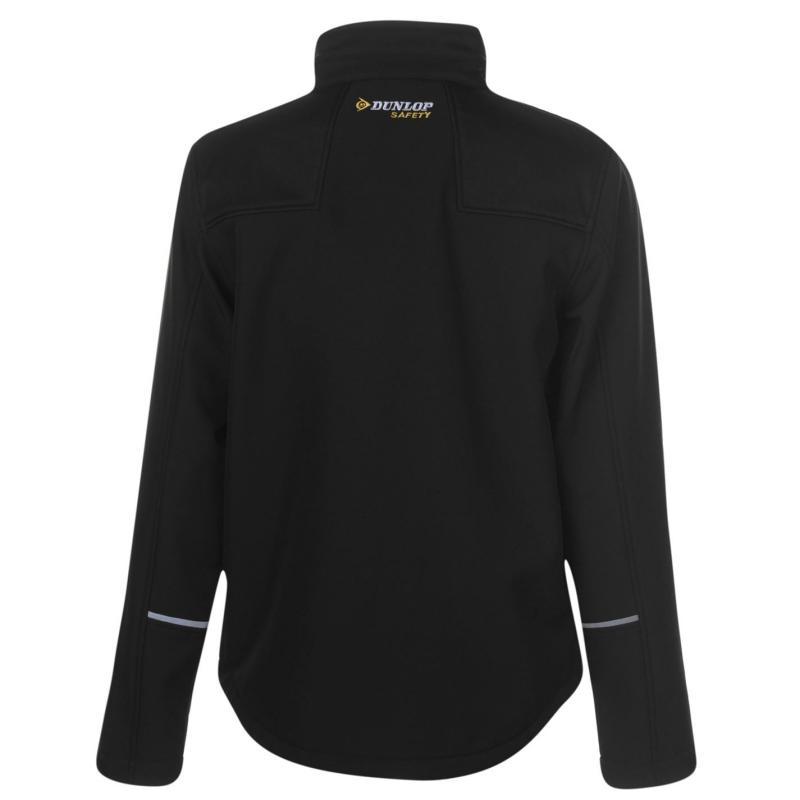 Dunlop Softshell Jacket Mens Black