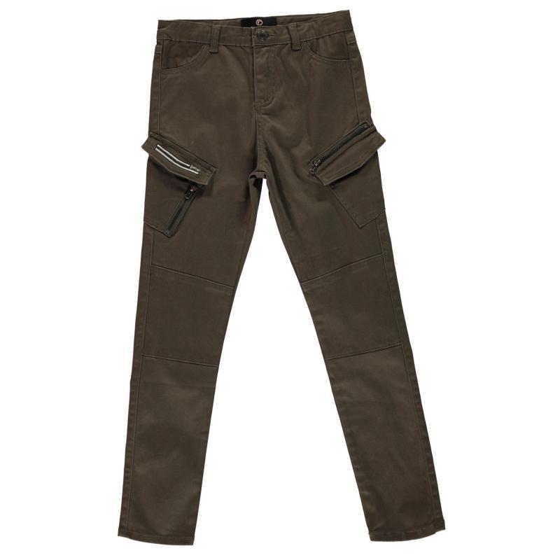 Firetrap Cargo Trousers Girls Olive